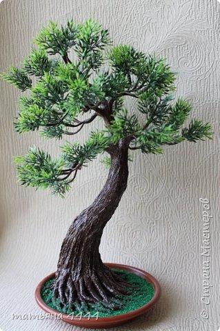 Дерево сделано из искусственны веточек фото 2