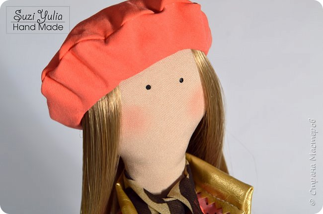 Имя куколка получила в честь двух подруг Натальи и Елены. Сделана на заказ в подарок)  Елене от Натальи) фото 2