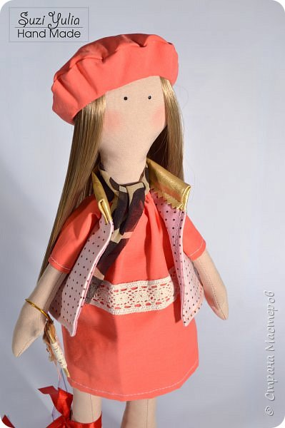 Имя куколка получила в честь двух подруг Натальи и Елены. Сделана на заказ в подарок)  Елене от Натальи) фото 1