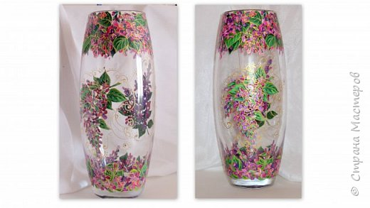 Вот такая ваза нарисовалась по поводу дня рождения хорошей знакомой. фото 1