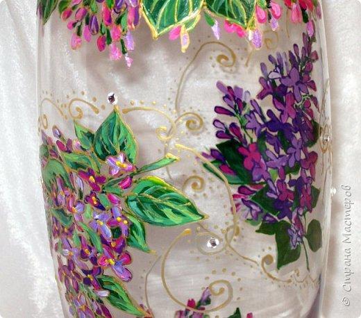 Вот такая ваза нарисовалась по поводу дня рождения хорошей знакомой. фото 6