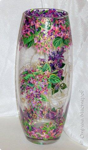 Вот такая ваза нарисовалась по поводу дня рождения хорошей знакомой. фото 3