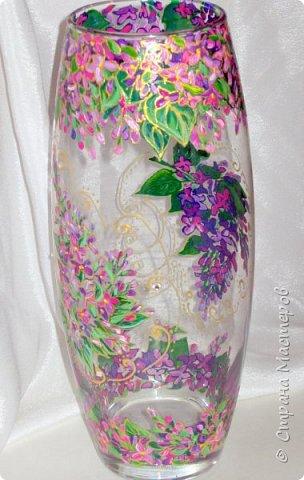 Вот такая ваза нарисовалась по поводу дня рождения хорошей знакомой. фото 12