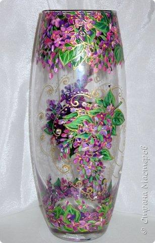 Вот такая ваза нарисовалась по поводу дня рождения хорошей знакомой. фото 14