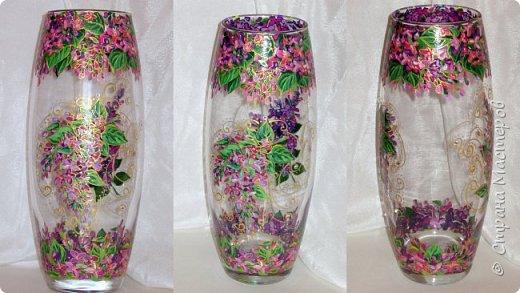 Вот такая ваза нарисовалась по поводу дня рождения хорошей знакомой. фото 2