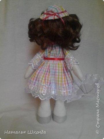 Куклы делала первый раз.Высота 30 см фото 2