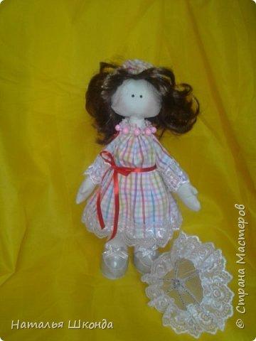 Куклы делала первый раз.Высота 30 см фото 3
