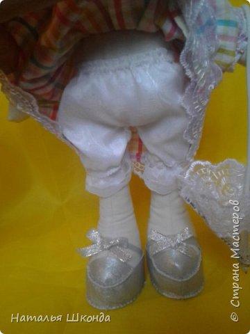 Куклы делала первый раз.Высота 30 см фото 6