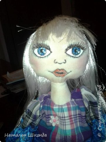 Куклы делала первый раз.Высота 30 см фото 9