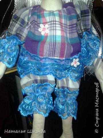 Куклы делала первый раз.Высота 30 см фото 10