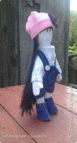 Куклы делала первый раз.Высота 30 см фото 13