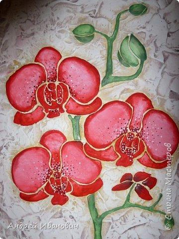 Рамка декорирована шпагатом Изображение и фон ---- шпатлёвка Раскрашено гуашью размеры 48х39 фото 5