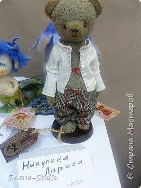 Друзья приглашаю вас в Питер на выставку кукол и мишек тедди!  Сразу скажу, что я не знаю имена всех мастеров  работы которых вы увидите, но я надеюсь, что вам будет интересно пройти по выставке вместе со мной - полюбоваться и зарядиться вдохновением и хорошим настроением! Итак мы у входа - На Большой Морской 38! фото 13