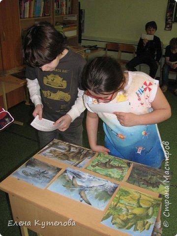 В конце каждого учебного года мы с детьми отправляемся в путешествие, были в Африке на сафари, в Италии в пиццерии, а сегодня было путешествие в мезозойскую эру, эру динозавров. фото 7