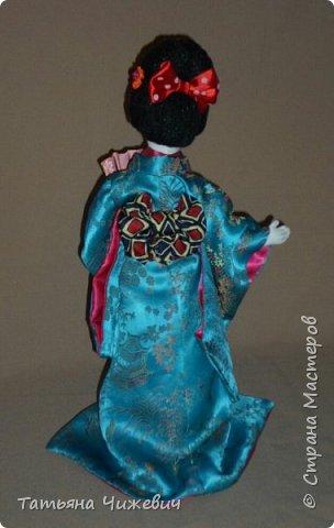 Еще одна гейша в моей коллекции. Высота 36 см фото 4