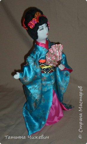 Еще одна гейша в моей коллекции. Высота 36 см фото 3