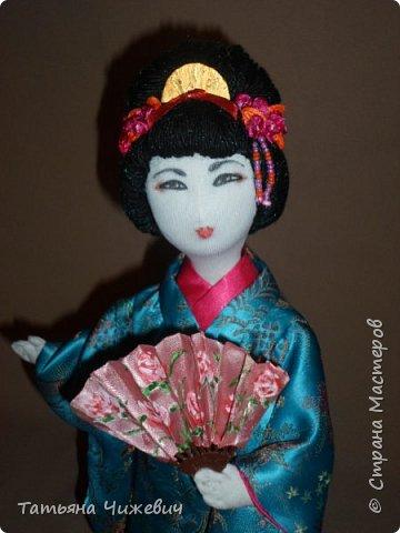 Еще одна гейша в моей коллекции. Высота 36 см фото 2