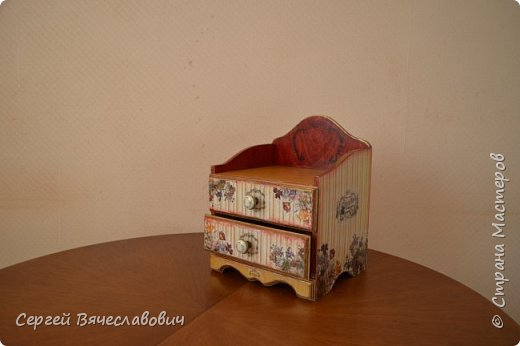 Шкатулка-комодик (первый блины.....) фото 4