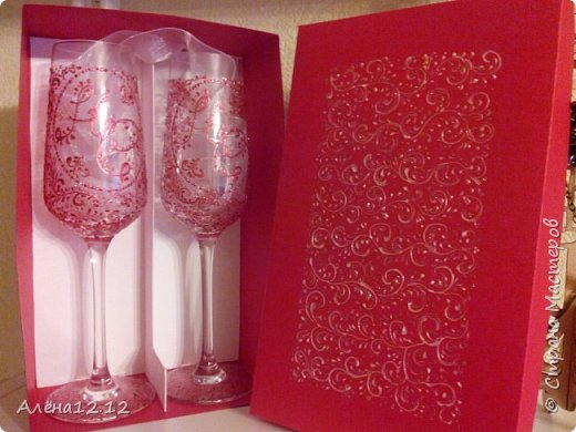 Вот такая красота получилась в подарок родителям на рубиновую свадьбу фото 3