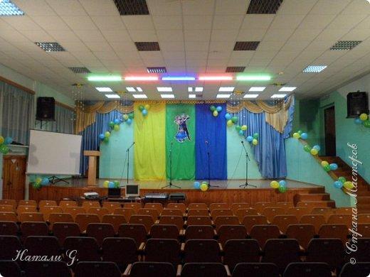 В нашем лицее  завтра  выпускной  вечер.  В этом  году  я  решила  украсить   зал   в  таких  тонах,  весенне-летних :) фото 1