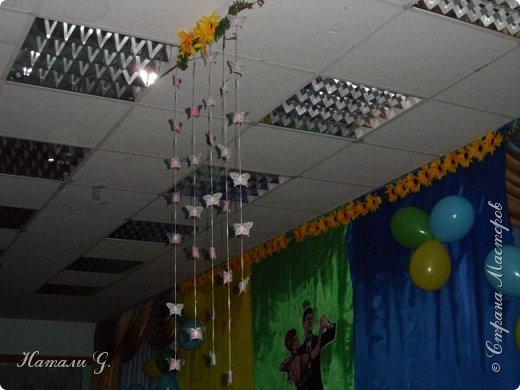 В нашем лицее  завтра  выпускной  вечер.  В этом  году  я  решила  украсить   зал   в  таких  тонах,  весенне-летних :) фото 2