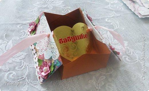 открытка-коробочка) фото 3