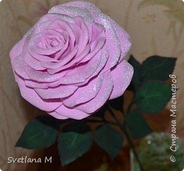 Напольная интерьерная композиция ,высота роз 1.2 м фото 6