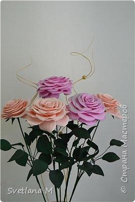 Напольная интерьерная композиция ,высота роз 1.2 м фото 3