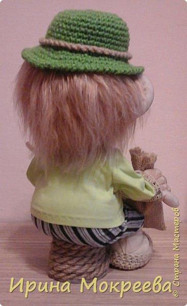 Эта кукла будет образцом для моих учеников,с которыми мы начнём сегодня делать домового ,который сидит. фото 2