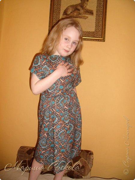 Решили мы с дочей на выпускной пойти в одинаковых платьях))  вот мама озадачивалась и шила )) фото 18