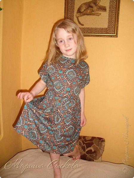 Решили мы с дочей на выпускной пойти в одинаковых платьях))  вот мама озадачивалась и шила )) фото 16