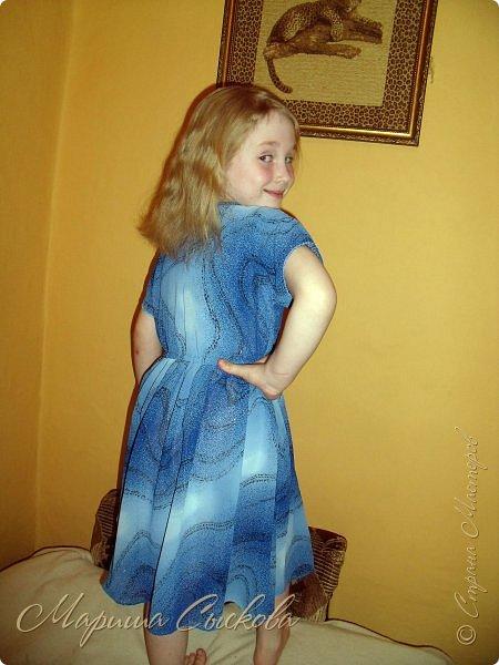 Решили мы с дочей на выпускной пойти в одинаковых платьях))  вот мама озадачивалась и шила )) фото 15
