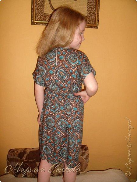 Решили мы с дочей на выпускной пойти в одинаковых платьях))  вот мама озадачивалась и шила )) фото 17