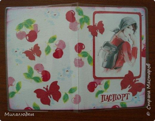 Всем здравствуйте! Недавно я выставляла отчет по МК открыток для библиотекарей на профессиональный праздник. http://stranamasterov.ru/node/1030095 А в благодарность за участие 5 девочкам сделала 15 обложек на паспорт. Обложечки простенькие, бюджетный вариант.Вот сейчас я хочу вам их показать. фото 12