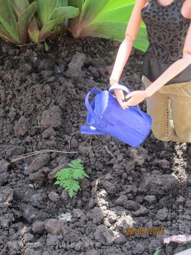К лету пора готовиться. Мы начали почему-то с садового инвентаря. Наверное потому, что его легко делать) фото 6