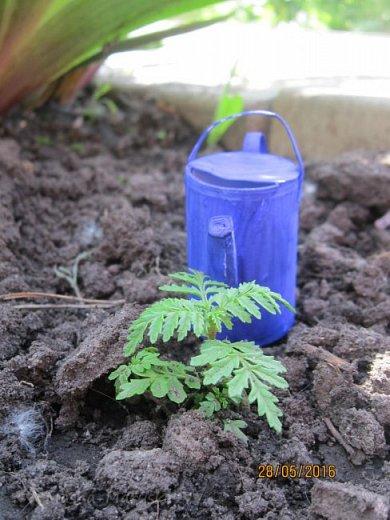 К лету пора готовиться. Мы начали почему-то с садового инвентаря. Наверное потому, что его легко делать) фото 8
