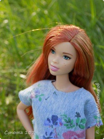 Всем привет!!! Знакомьтесь это моя новая куколка Тия! Сегодня она первый раз побывала на даче и там ей очень понравилось) Фотосессия будет без комментариев, поэтому смотрите дальше и наслаждайтесь просмотром! фото 1