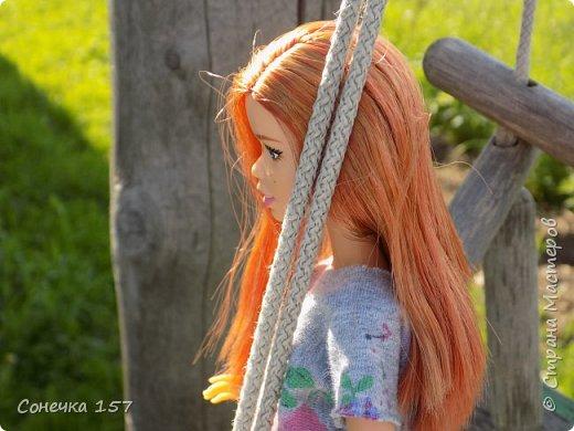 Всем привет!!! Знакомьтесь это моя новая куколка Тия! Сегодня она первый раз побывала на даче и там ей очень понравилось) Фотосессия будет без комментариев, поэтому смотрите дальше и наслаждайтесь просмотром! фото 4