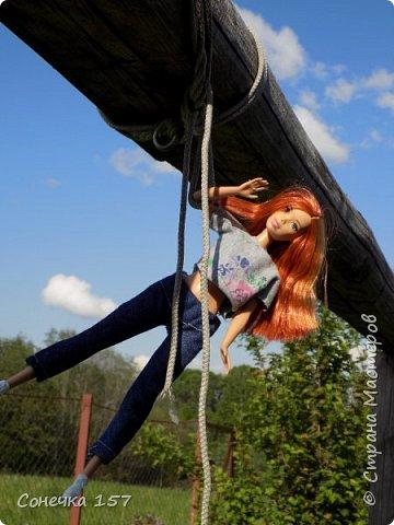 Всем привет!!! Знакомьтесь это моя новая куколка Тия! Сегодня она первый раз побывала на даче и там ей очень понравилось) Фотосессия будет без комментариев, поэтому смотрите дальше и наслаждайтесь просмотром! фото 6