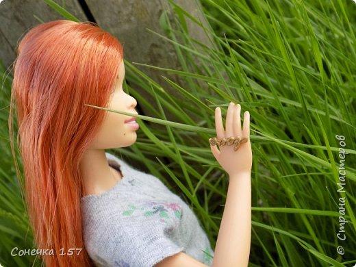 Всем привет!!! Знакомьтесь это моя новая куколка Тия! Сегодня она первый раз побывала на даче и там ей очень понравилось) Фотосессия будет без комментариев, поэтому смотрите дальше и наслаждайтесь просмотром! фото 8