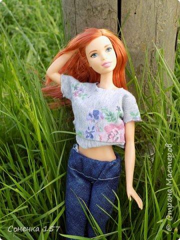 Всем привет!!! Знакомьтесь это моя новая куколка Тия! Сегодня она первый раз побывала на даче и там ей очень понравилось) Фотосессия будет без комментариев, поэтому смотрите дальше и наслаждайтесь просмотром! фото 9