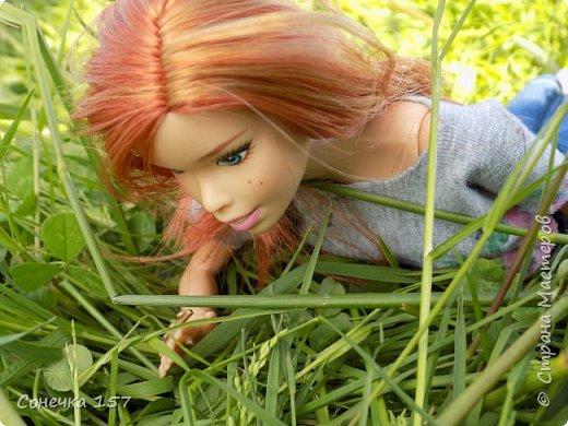 Всем привет!!! Знакомьтесь это моя новая куколка Тия! Сегодня она первый раз побывала на даче и там ей очень понравилось) Фотосессия будет без комментариев, поэтому смотрите дальше и наслаждайтесь просмотром! фото 10