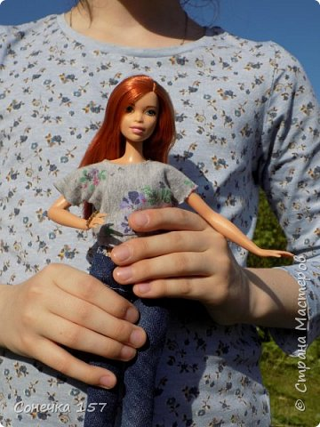Всем привет!!! Знакомьтесь это моя новая куколка Тия! Сегодня она первый раз побывала на даче и там ей очень понравилось) Фотосессия будет без комментариев, поэтому смотрите дальше и наслаждайтесь просмотром! фото 11