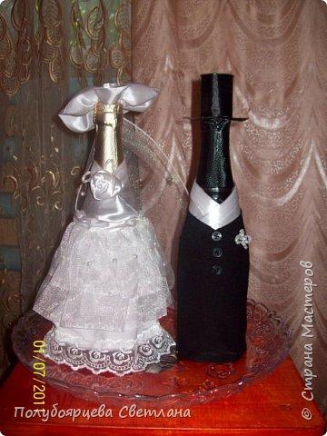 Декор бутылок в разных техниках фото 3