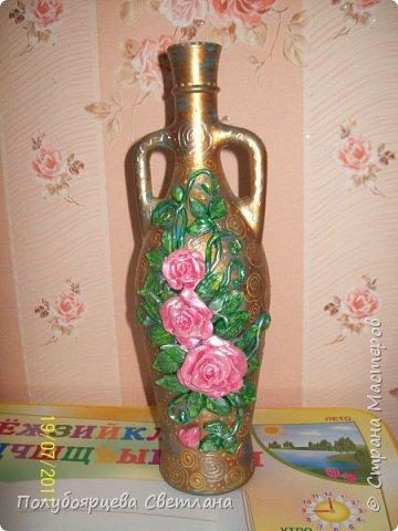 Декор бутылок в разных техниках фото 4