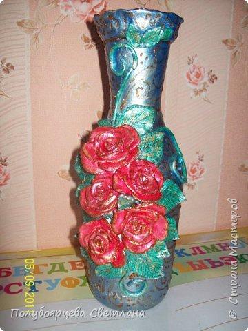 Декор бутылок в разных техниках фото 8