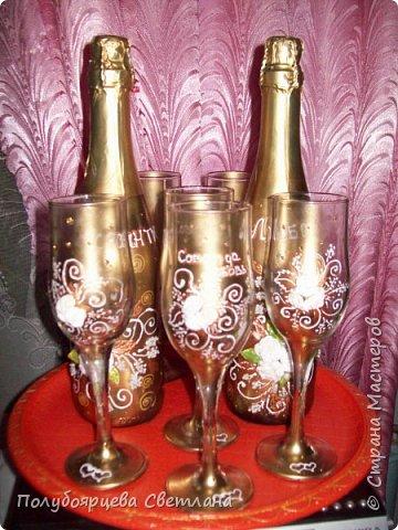 Декор бутылок в разных техниках фото 11