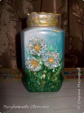 Декор бутылок в разных техниках фото 14