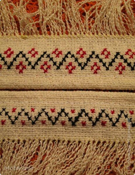 Сегодня я закончила работу над многофункциональными украшениями из льняной ткани. фото 2