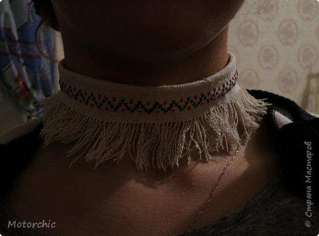 Сегодня я закончила работу над многофункциональными украшениями из льняной ткани. фото 5